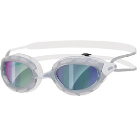 Zoggs Predator Mirror Goggle Grey/White
